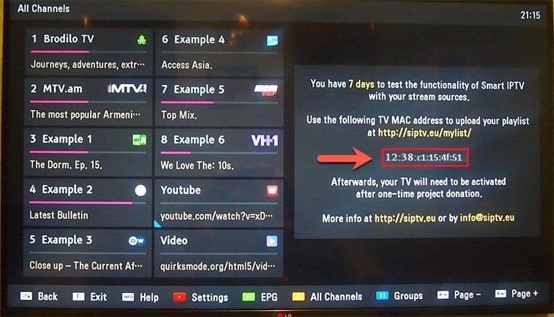 Wypróbuj Bezpłatne TV TEST | Konfiguracja na SAMSUNG SMART TV