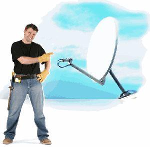 satellite dish installer